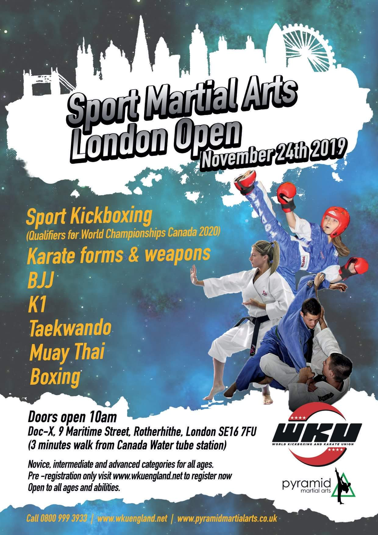 Sport Martial Arts London Open